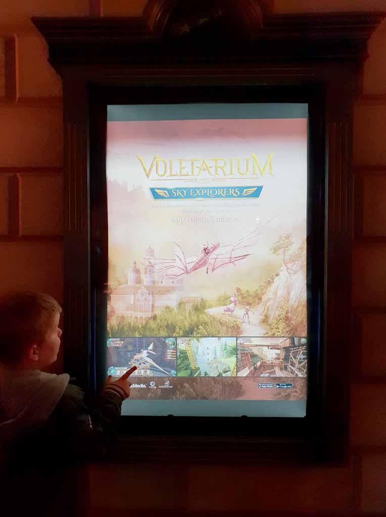 Met het spel Sky Explorers komen we vast in de stemming