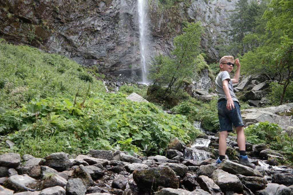 Wandeling naar de Grande Cascade.