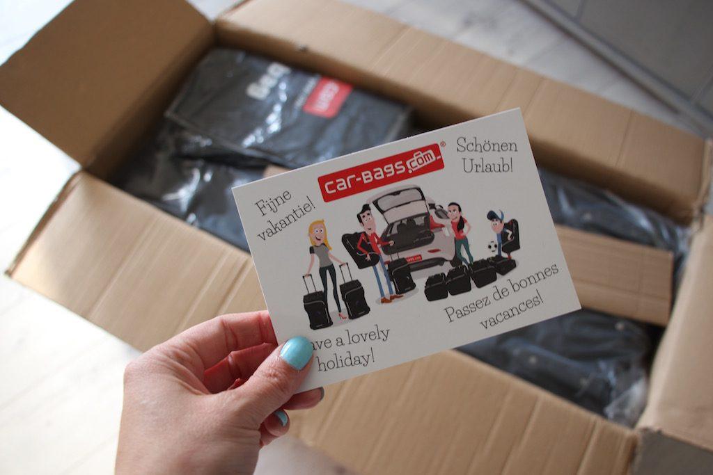 De reistassen van Car-Bags beloven ons te verlossen van de inpakstress.