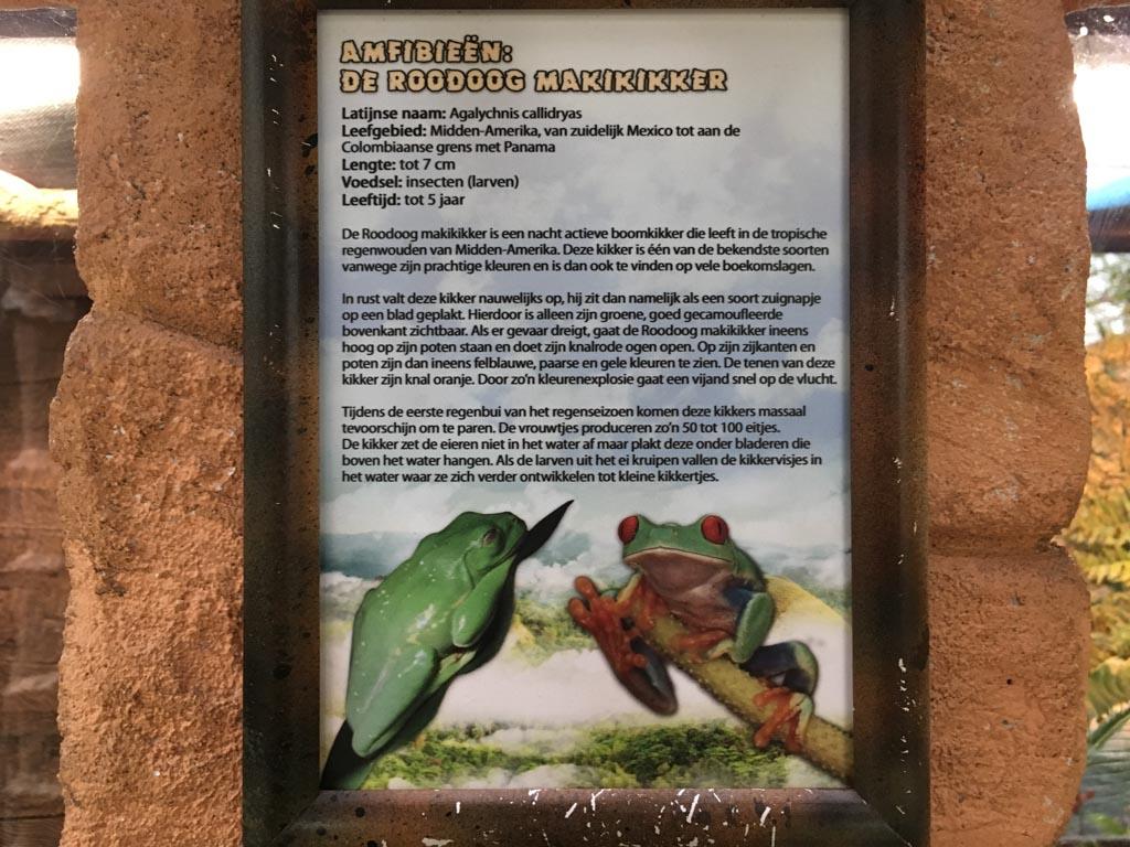 Informatie over de dieren