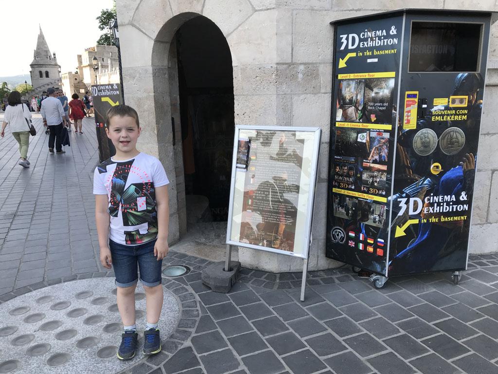 Wij bekijken hier een film over de geschiedenis van Boedapest.