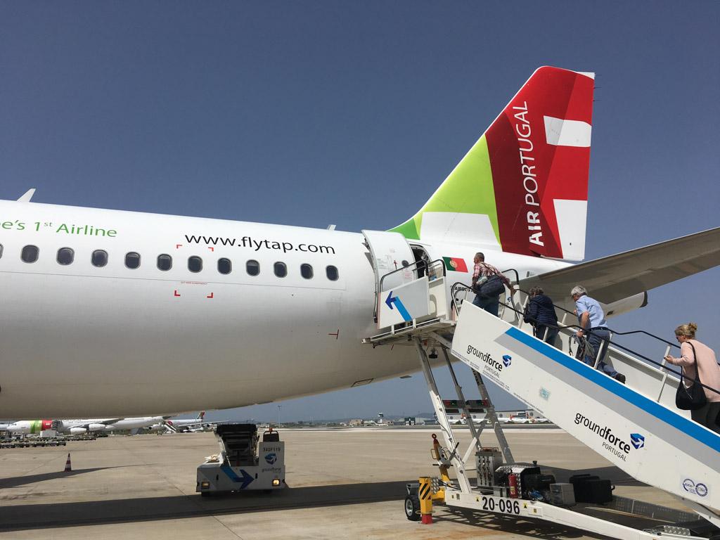 Vliegen met TAP Air naar Portugal
