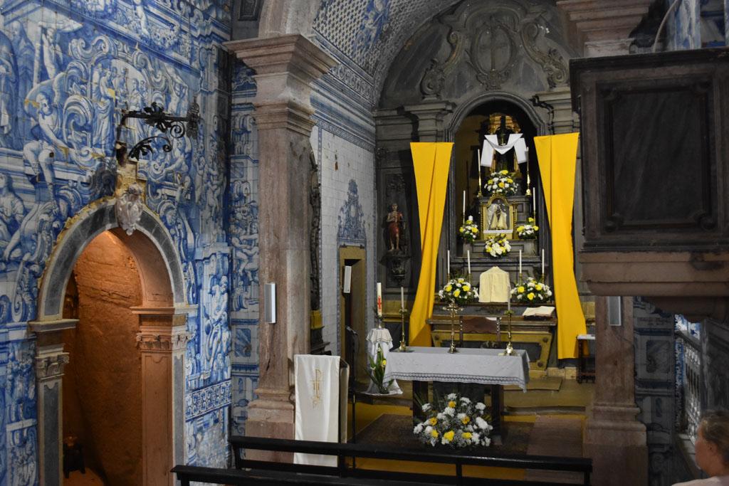 De kapel in Peniche
