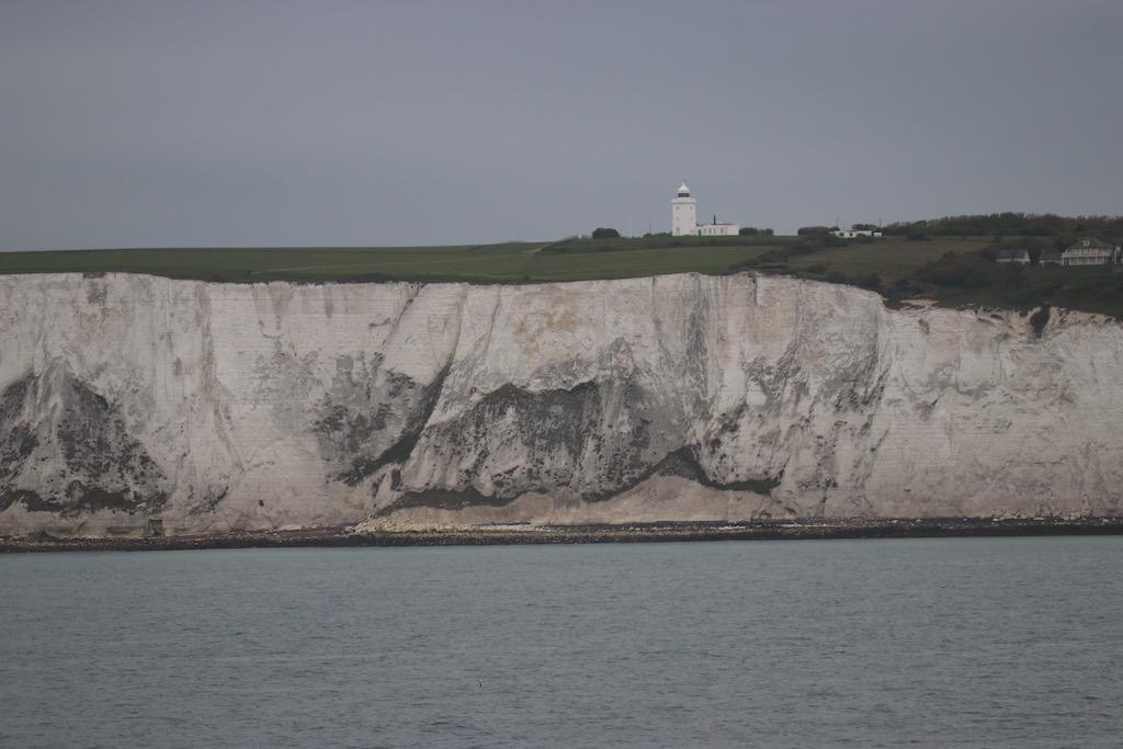 Dover komt steeds dichterbij.