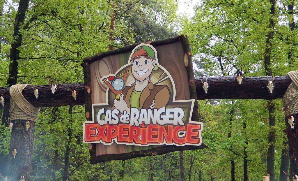 Iedereen is klaar voor de Cas de Ranger Experience