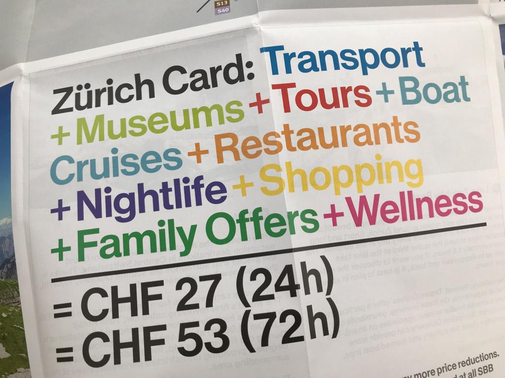 Bekijk vooraf of een City Card voor jou een goede keuze is.