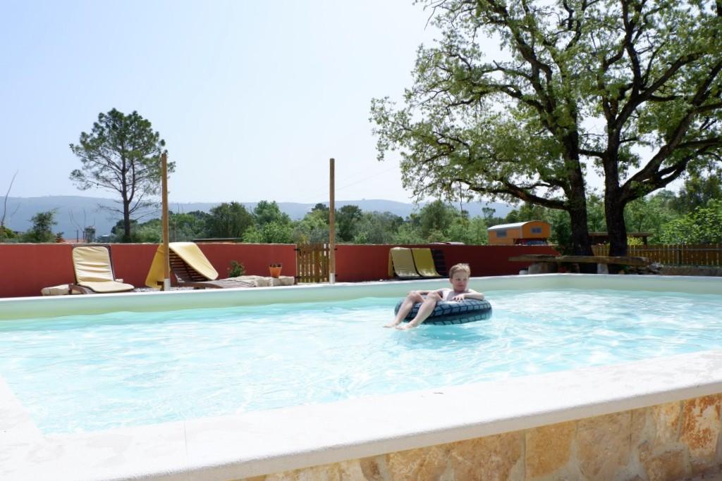 Zwemmen bij casa Cantiga