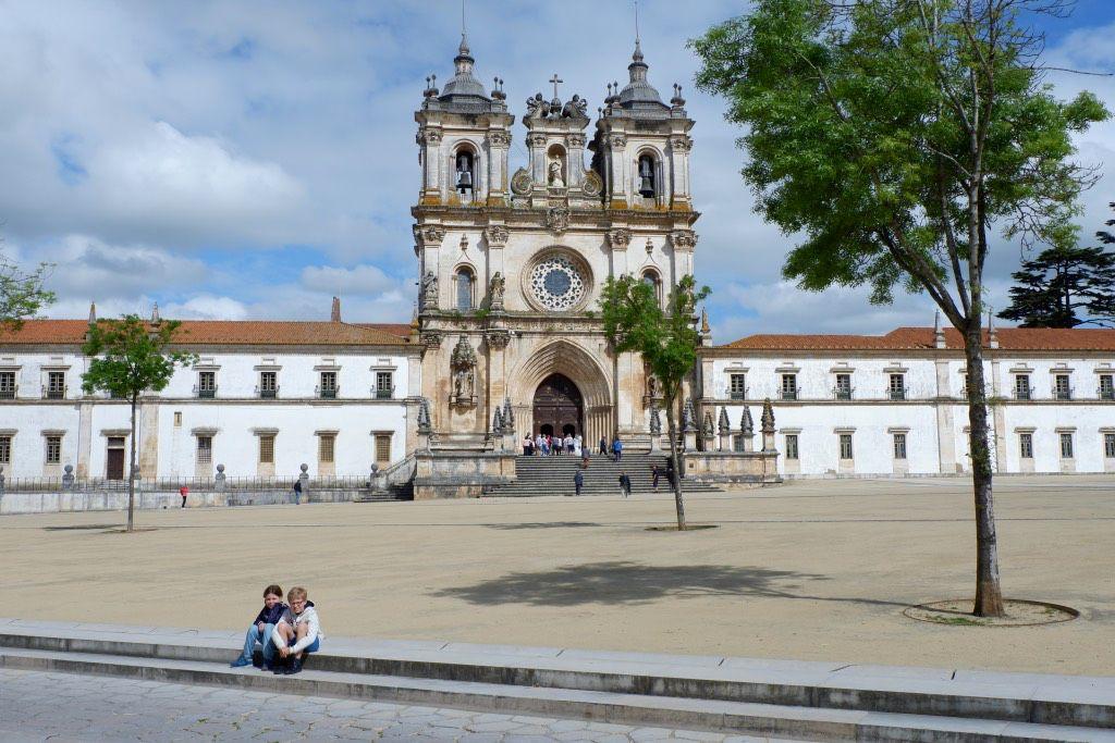 Het klooster van Alcobaca is een van de mooiste kloosters van Portugal