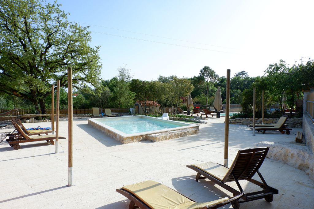 Het zwembad van Casa Cantiga