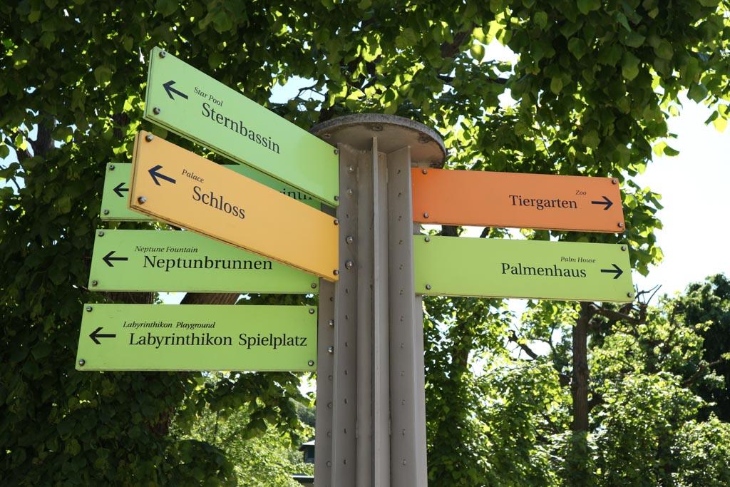 In de tuin van Schloss Schönbrunn is veel te zien en te doen.