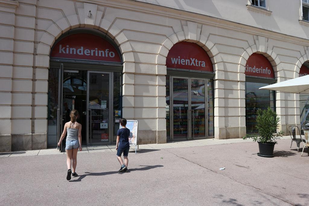 Kinderinfo WienXtra, ook interessant voor toeristen.