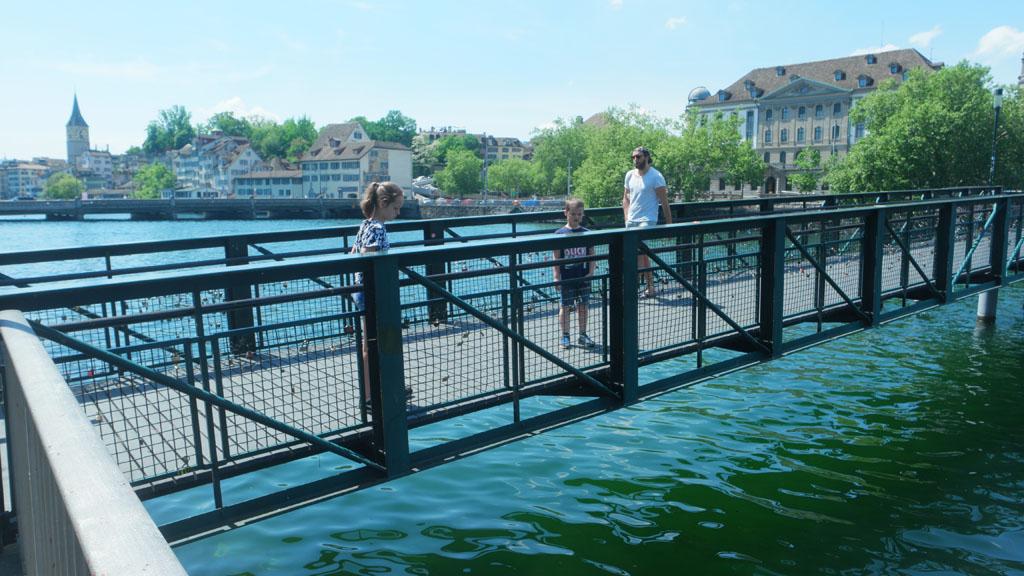 Slotjesbrug in Zürich.