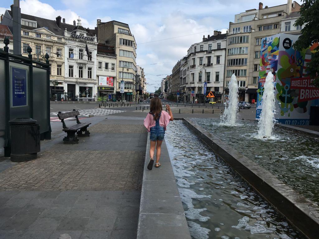 Thon Hotel Bristol Stephanie ligt op 2 minuten lopen van de tramhalte.