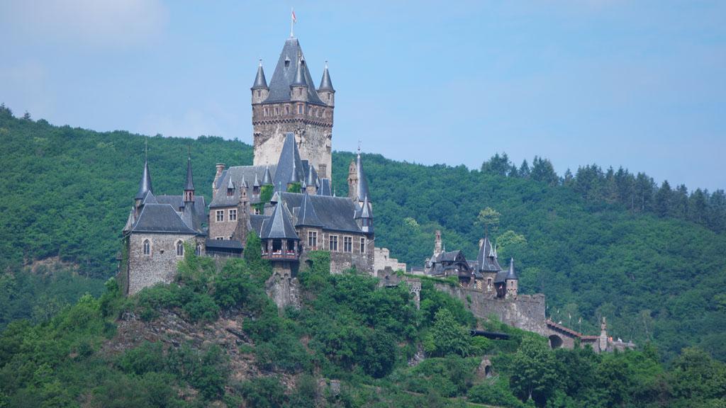 Het kasteel bij Cochem.