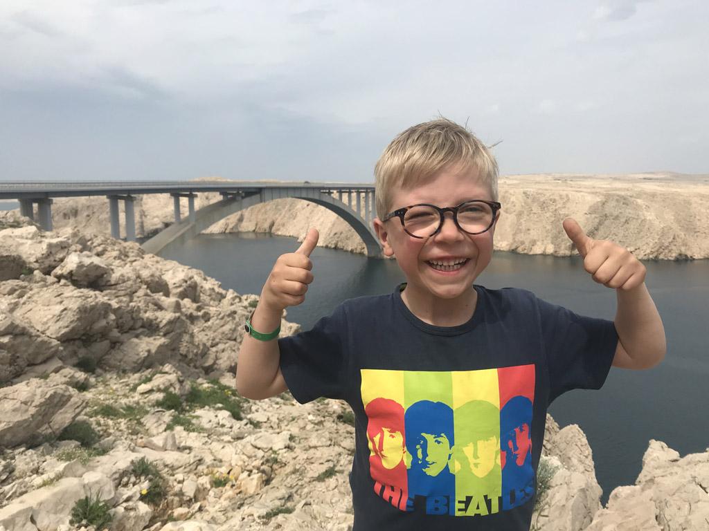 natuurparken rondom zadar brug naar pag