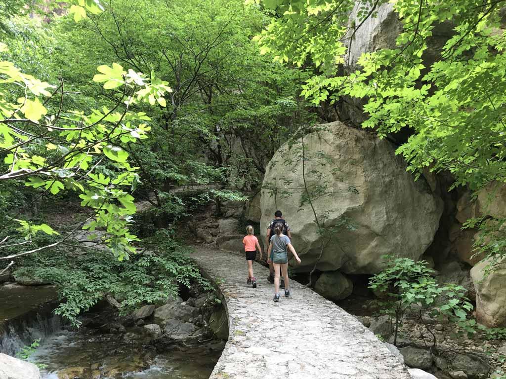 natuurparken rondom zadar paklenica paden