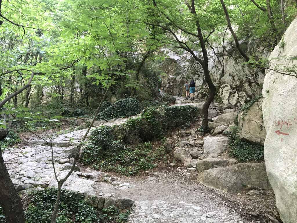 natuurparken rondom zadar steile paden
