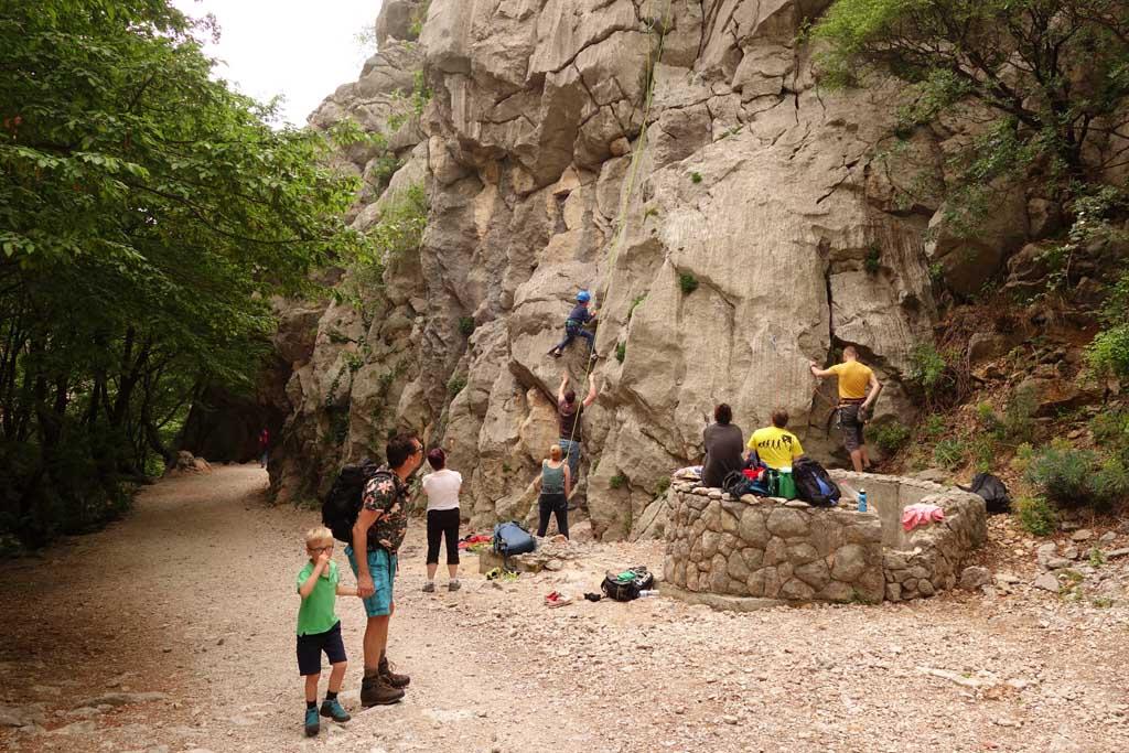 natuurparken rondom zadar bergbeklimmen