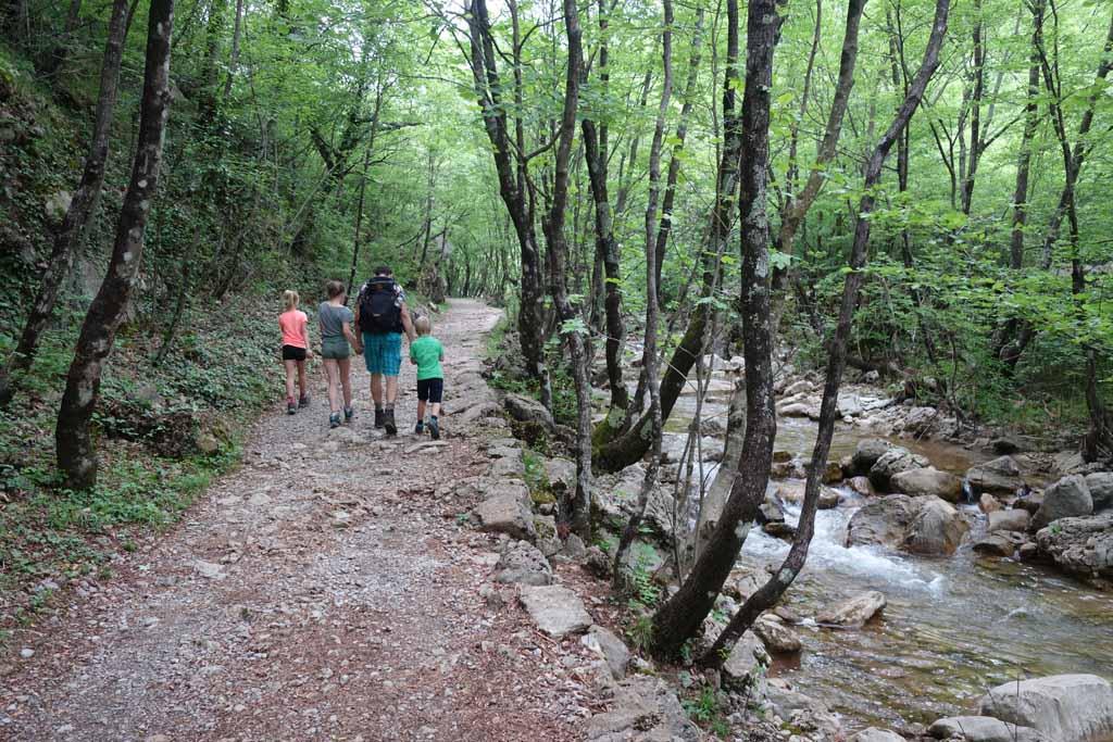 Natuurparken rondom zadar groene kloof