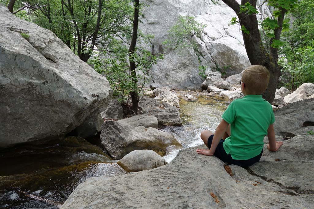 Natuurparken rondom zadar water in paklenica