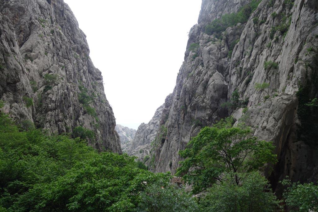 natuurparken rondom zadar paklenica kloof