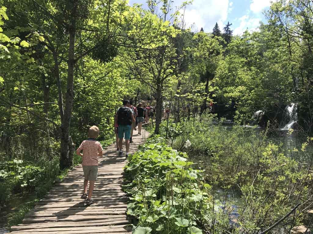natuurparken rondom zadar plitvice groen