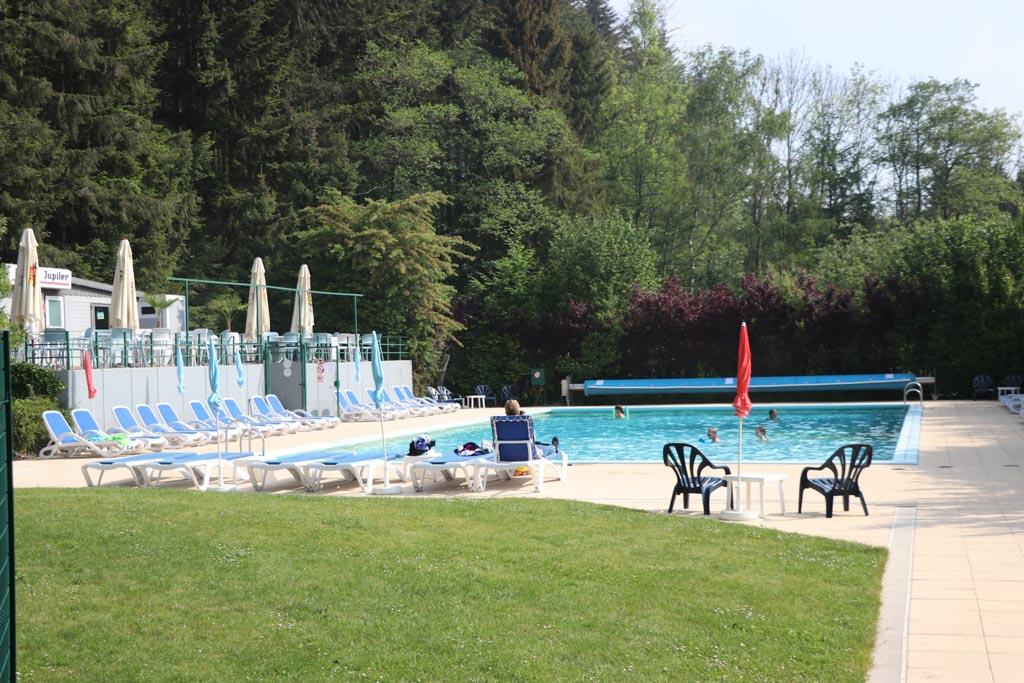 Het zwembad van Parc la Clusure.