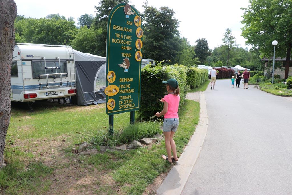 Wat gaan we als eerste ontdekken op Parc la Clusure, de sportvelden, speeltuin of het zwembad?
