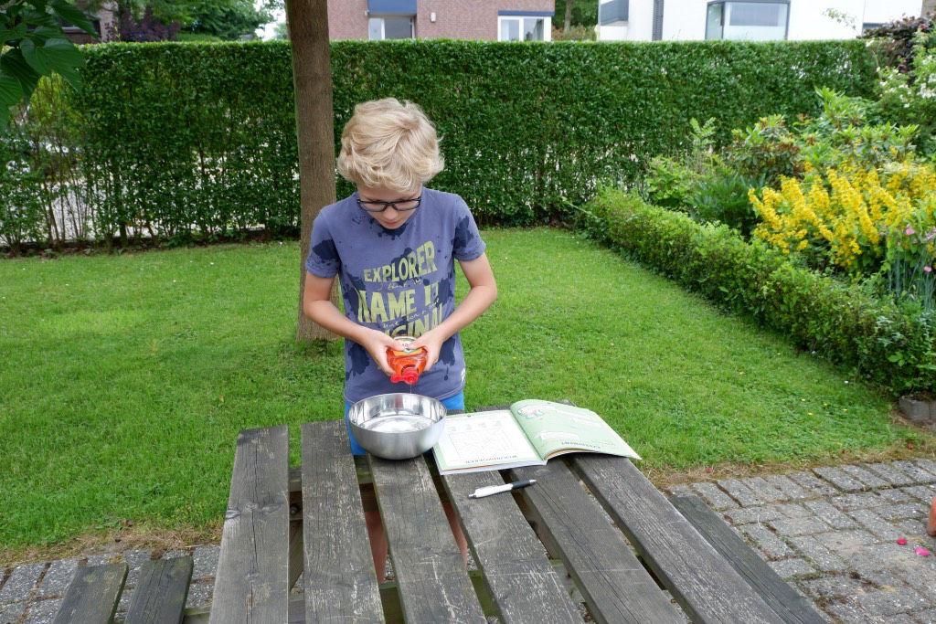 Experimenteren met Young Scientist