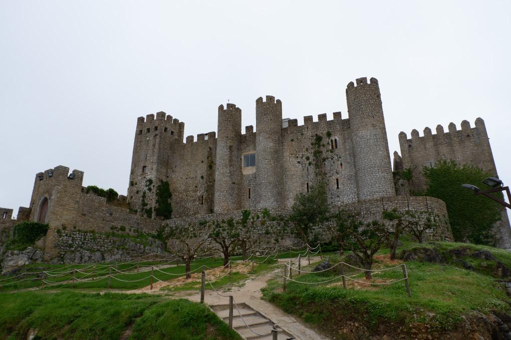 Het statige Castelo de Óbidos ui de 12de eeuw