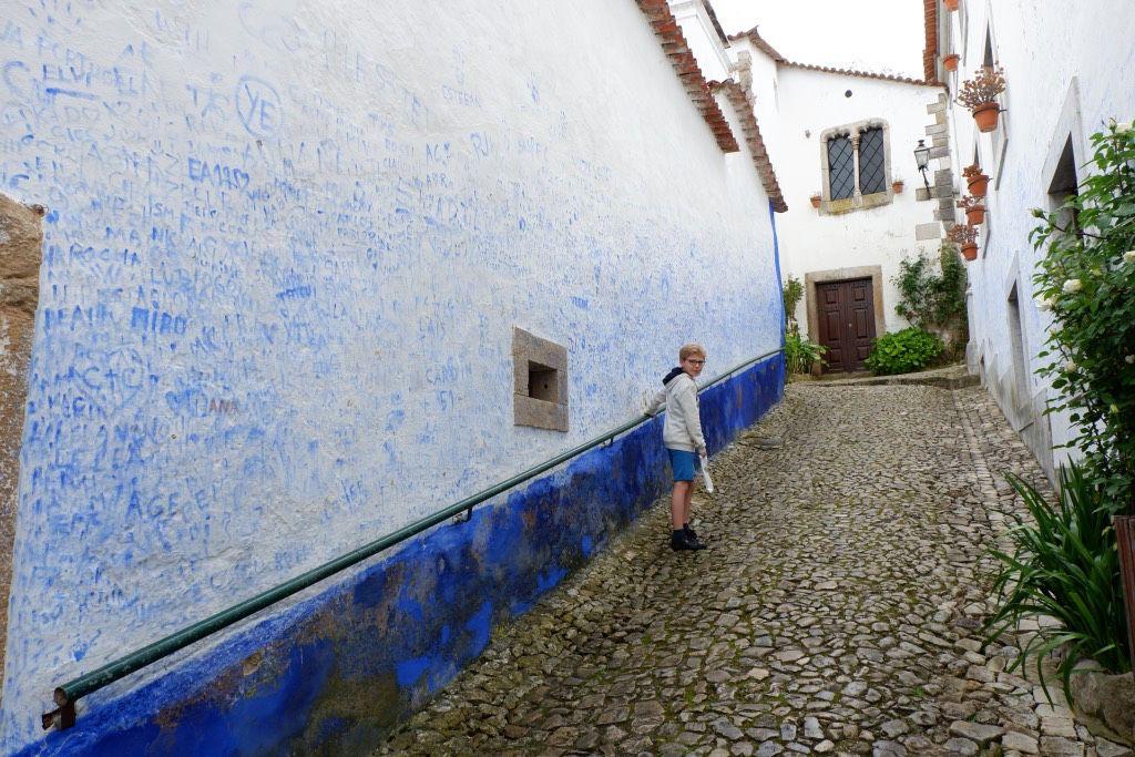 De muren van Óbidos