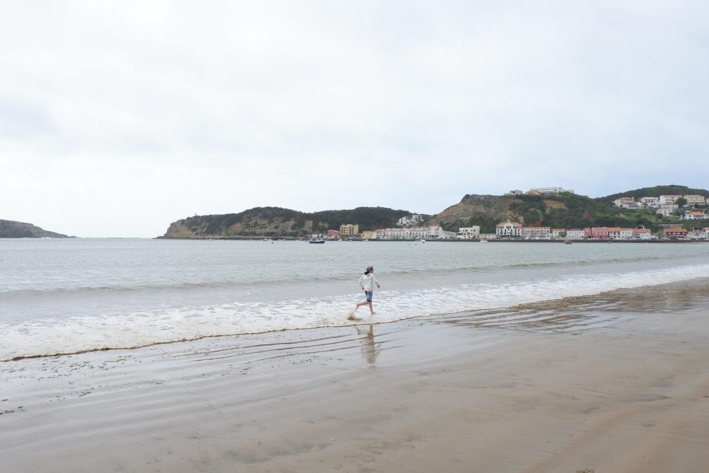 Het strand van Sao Martinho de Porto