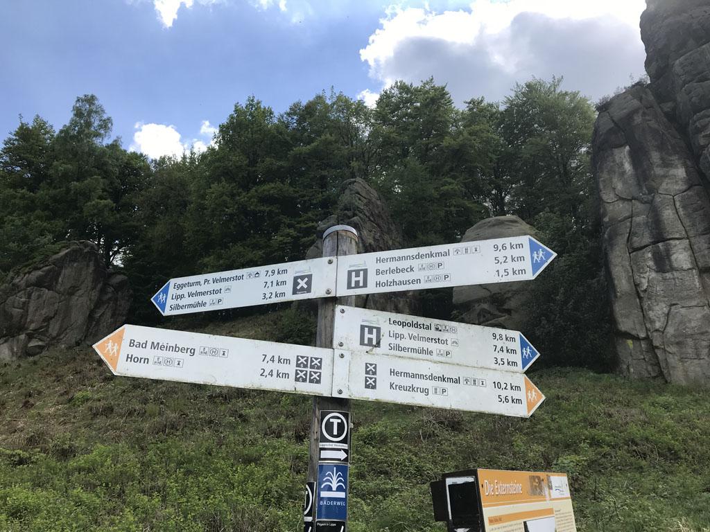 Naast de korte wandelingen zijn er ook routes die langer zijn.