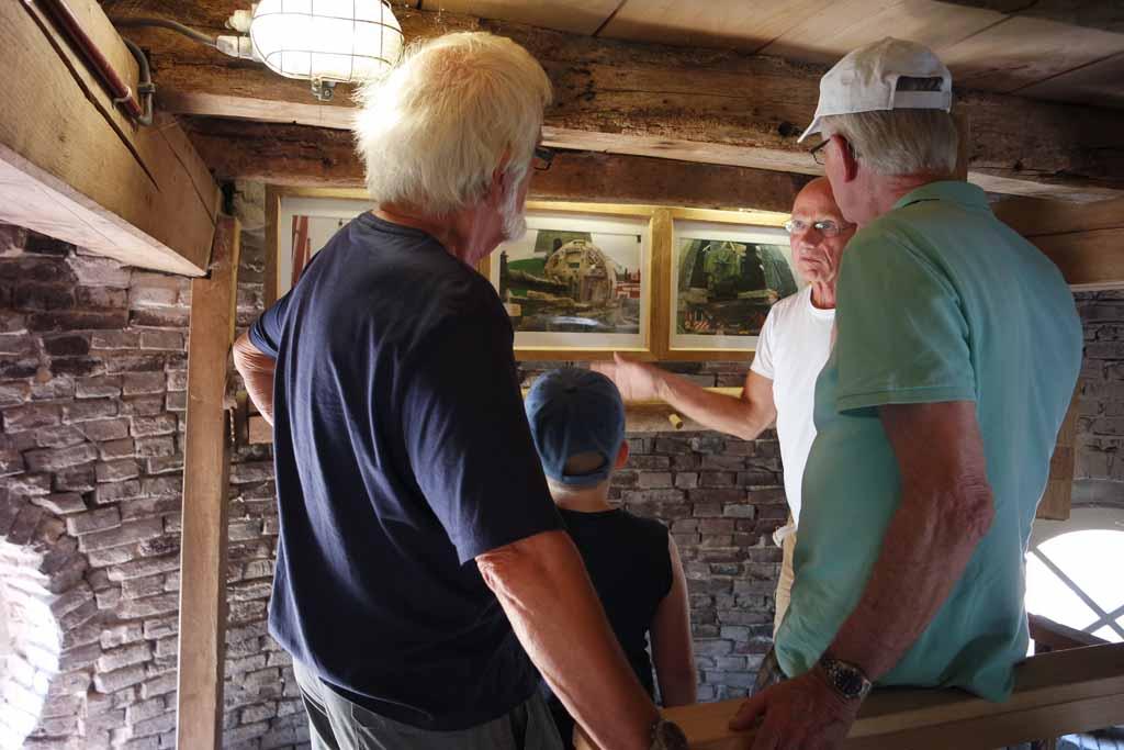De molenaar vertelt vol passie over de Sevink Molen