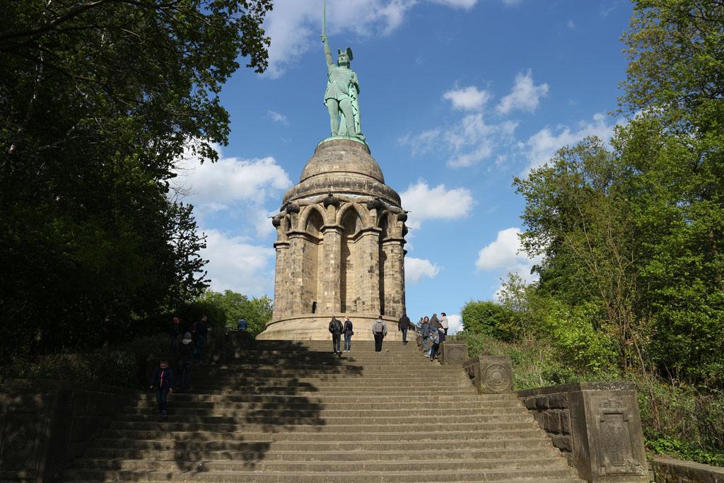 Hermannsdenkmal, een bijzonder monument.