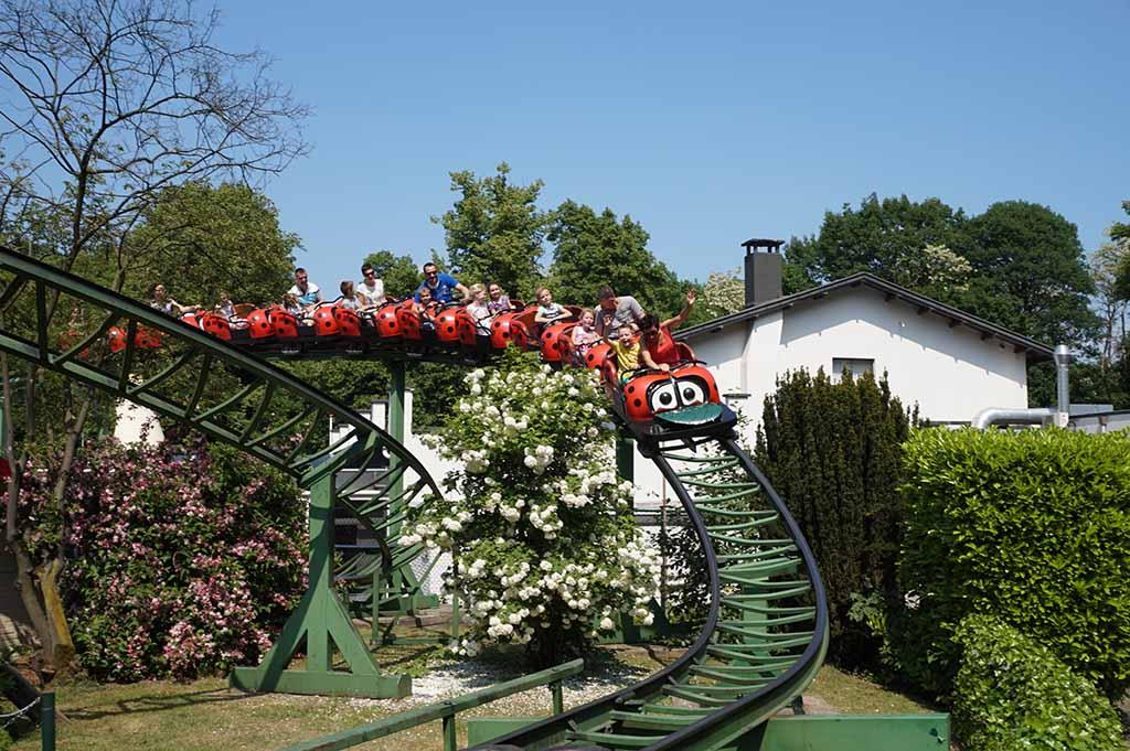 Pretpark Gelderland met achtbaan