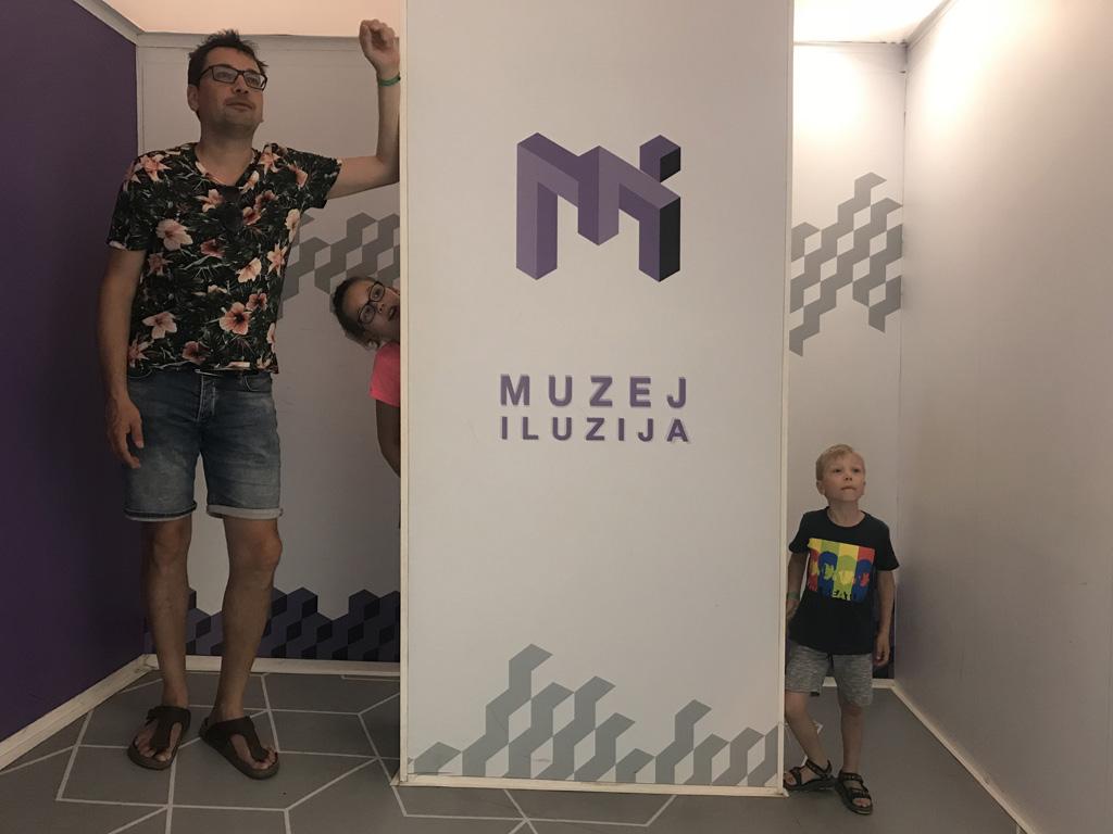 zadar bezienswaardigheden museum of illusions