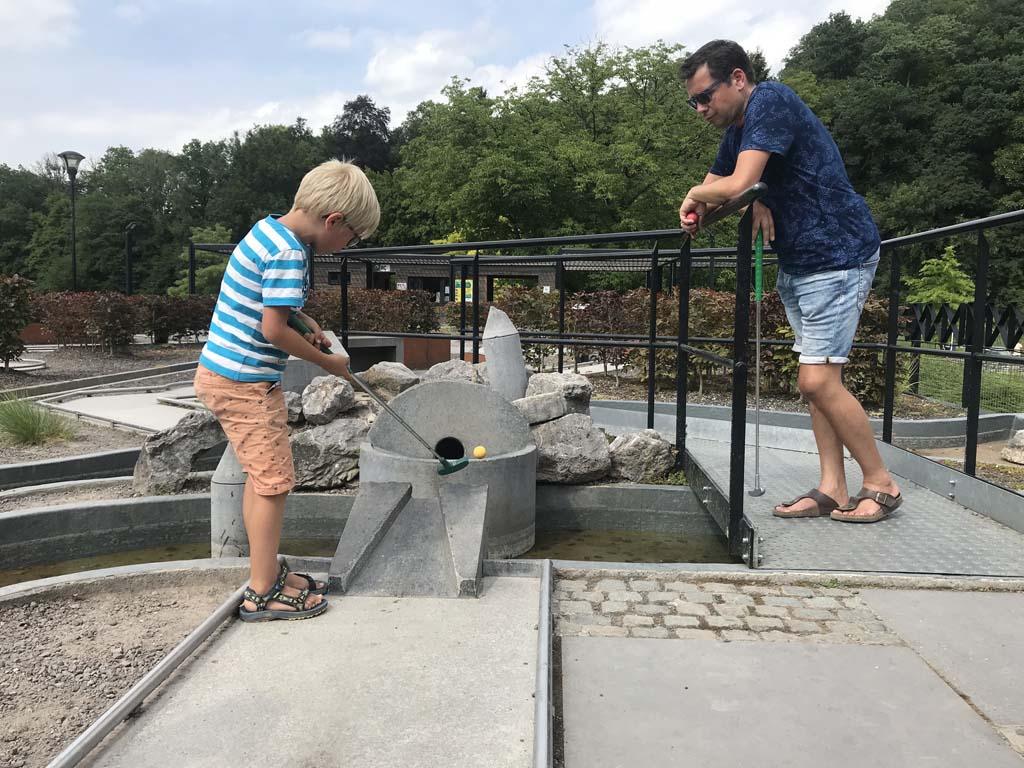 activiteiten in Durbuy minigolf