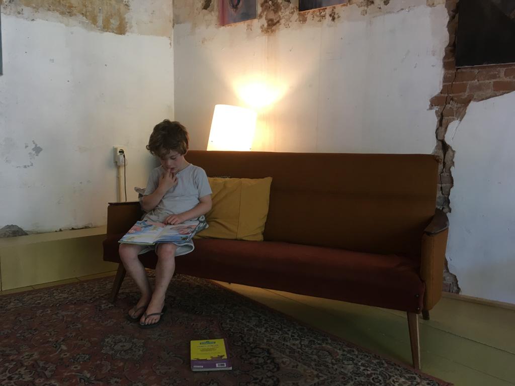 Ik zie mezelf hier ook wel zitten met een goed boek en een grote kop thee.