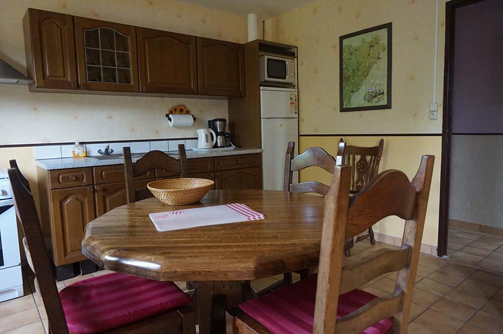 De keuken mét ronde tafel
