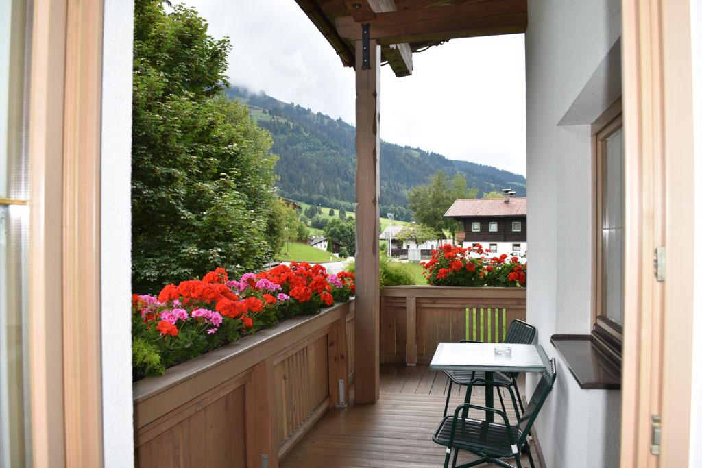 Een fijn, groot balkon