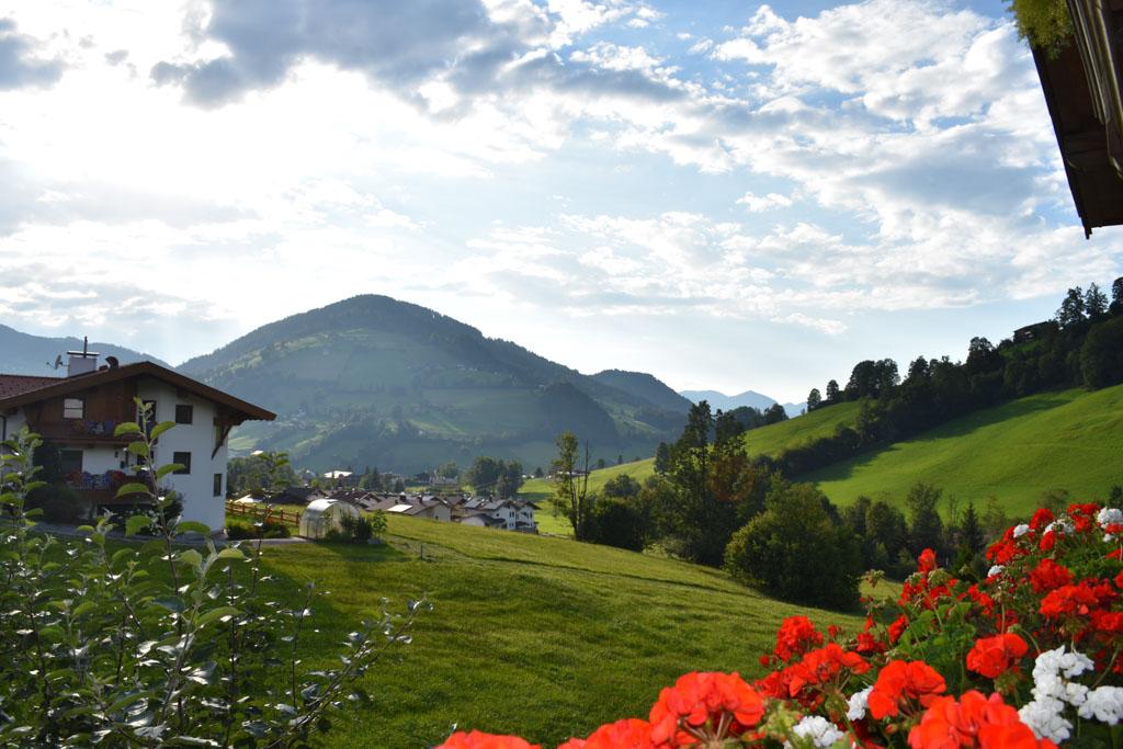 Een mooi uitzicht over de bergen