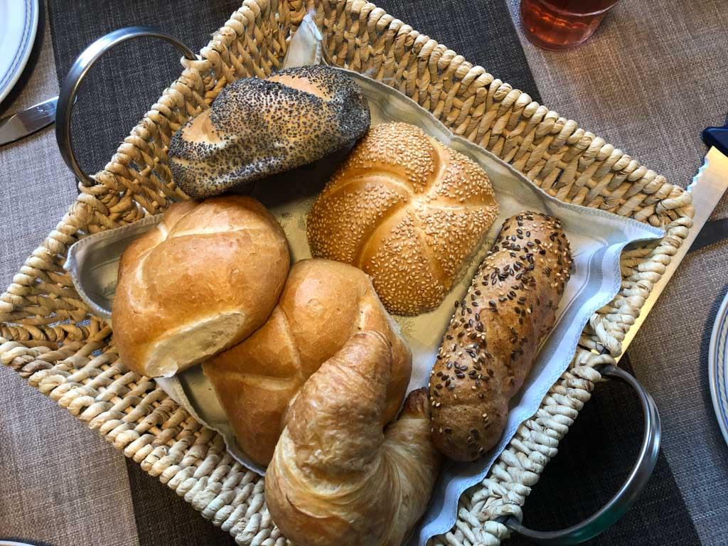 Iedere ochtend lekkere, verse broodjes