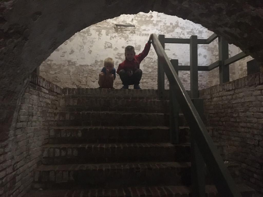 Ondergronds gangenstelsel: donker én spannend.
