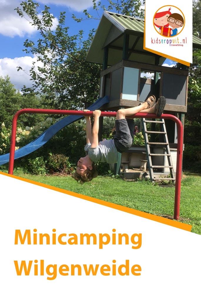Minicamping Wilgenweide in Brabant.