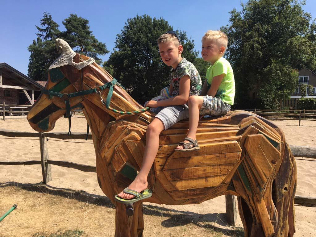 De Paardenkamp is een gratis uitje voor kinderen die houden van paarden, pony's en het boerenleven.
