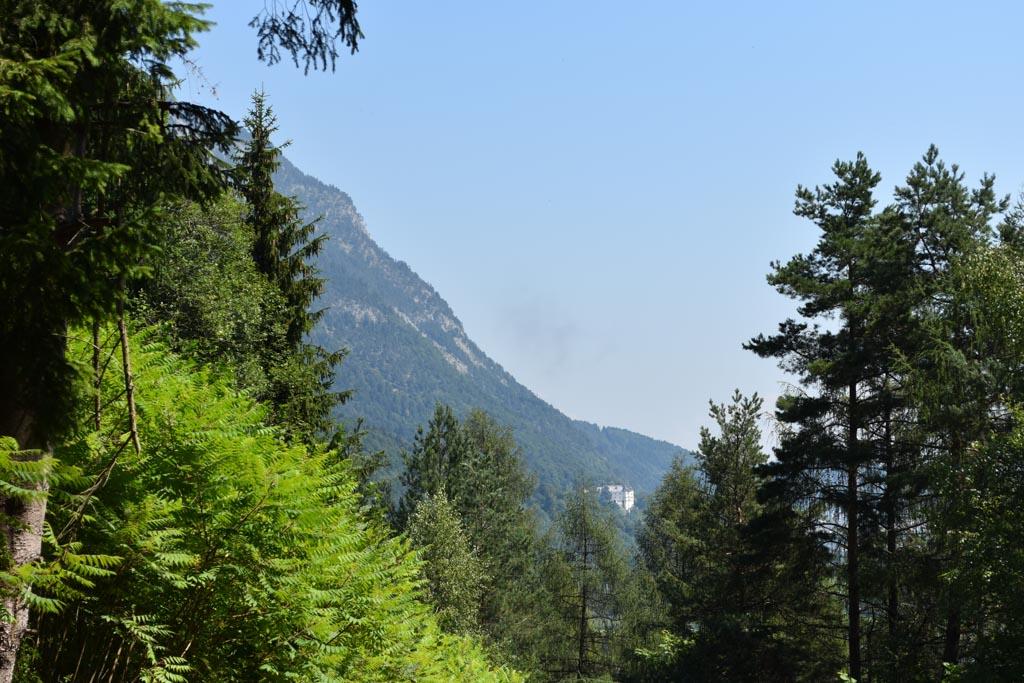 We zien Schloss Tratzberg tijdens onze wandeling al in de verte