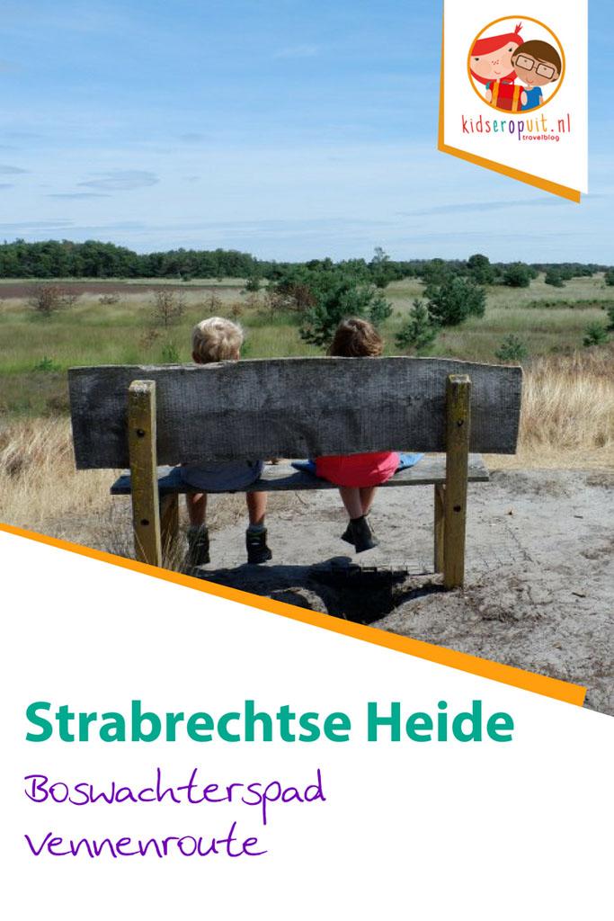 Boswachterspad Vennenroute (5 km) op de Strabrechtse Heide