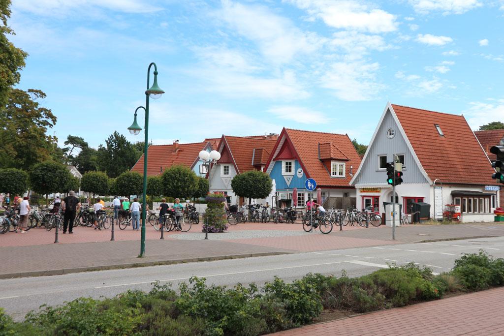 De leuke winkeltjes in Boltenhagen.