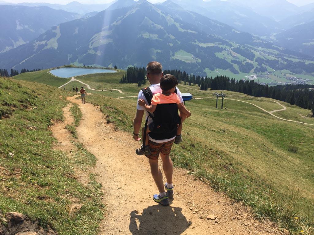 Regio Wilder Kaiser biedt prachtige wandelmogelijkheden.